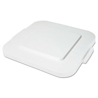 Rubbermaid Commercial Spacesaver Square Container Lids - 6523WHI