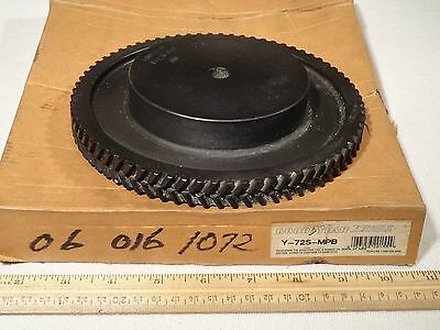"Goodyear Eagle Y-72S-MPB Sprocket 72 Teeth 8mm Pitch 17mm Wide 1/2"" Bore"