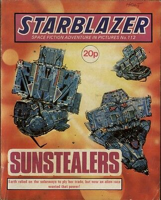 Sunstealers,starblazer Space Fiction Adventure In Pictures,no.112,1984