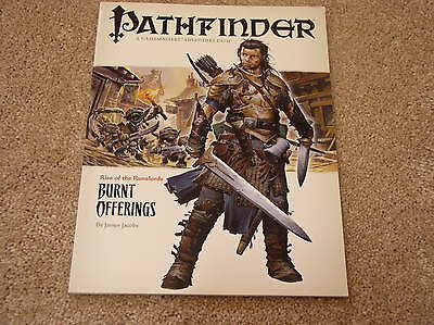 Paizo Pathfinder Rise of the Runelords #1: Burnt Offerings adventure