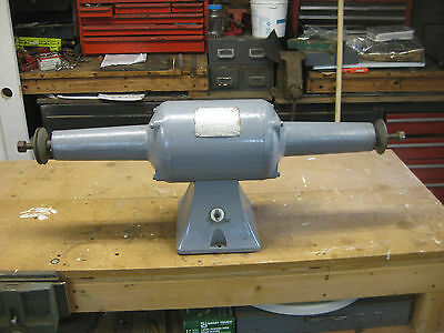 Brown-Brookmeyer long arm bench mount buffer/ polisher