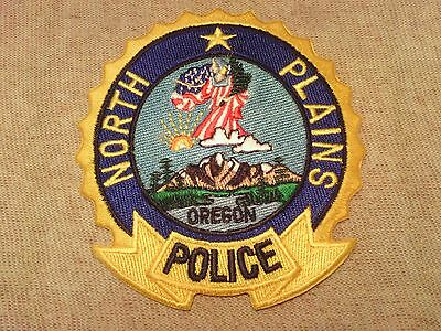 OR North Plains Oregon Police Patch