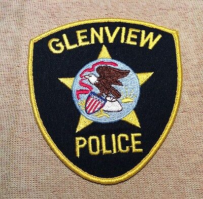 IL Glenview Illinois Police Patch