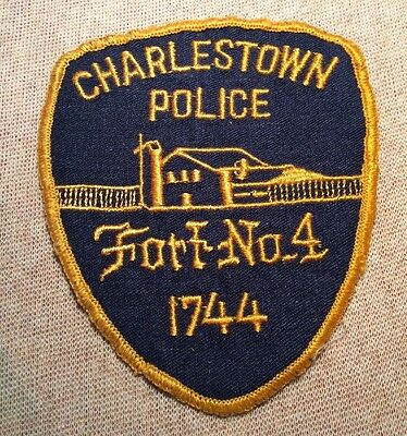 NH Vintage Charlestown New Hampshire Police Patch