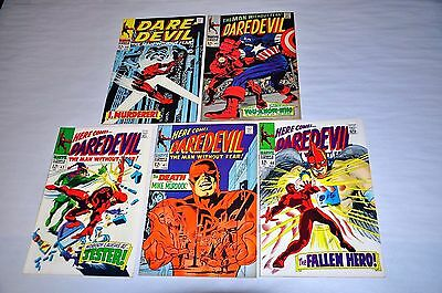 Daredevil 40 41 42 43 44 HIGH GRADE Lot Capital City Collection