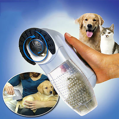 NEW Pet Dog Cat Hair Remover Comb Vacuum Cleaner Trimmer Shedding Grooming Brush
