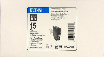 Lot Of 10 Cutler Hammer Eaton  Brcaf115 Arc Fault Breaker 15A New In Box