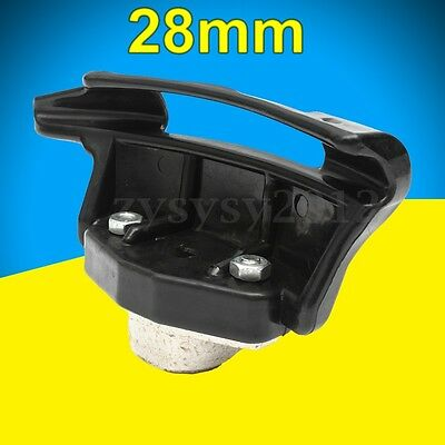 Black Car Auto Tire Changer Nylon Mount Demount Duckhead Plastic Head Dia 28mm