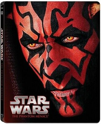 Star Wars: Episode I: The Phantom Menace [New Blu-ray] Steelbook, Subtitled, W