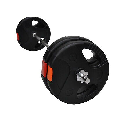 40Kg - 150Cm Barbell Bar - Barbell Weight Set -10Kg X 2 & 7.5Kg X 2 Weight Plate