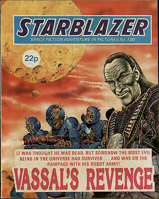 Vassal's Revenge,starblazer Space Fiction Adventure In Pictures,no.130,1984