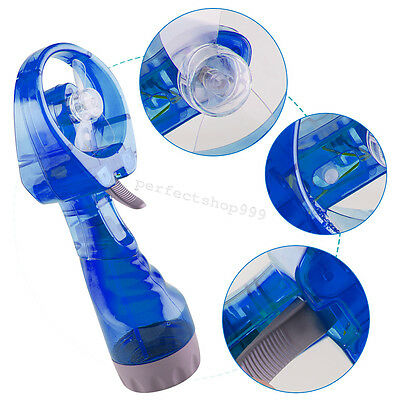 Useful Mini Portable Hand Held Water Spray Cooling Hand Fan Small Electronic Fan