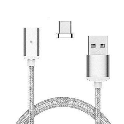 Outstanding® 1M High Speed intrecciato Tipo C USB-C Magnetic Transfer Data Adapt