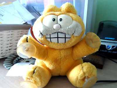 Vintage 1980s Garfield Stick on Toy