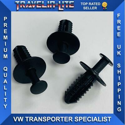 For VW T5 Transporter Front Grille Clips Fixings X3 Great Quality Brand New