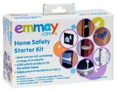 Emmay Care Baby Safety Starter Kit 16 Piece Set Children Proof Saftey