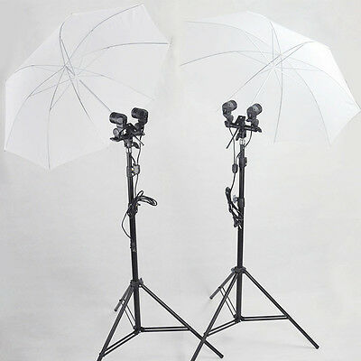 Durable 33in 84cm Translucent White Soft Umbrella For Photography Studio Flash