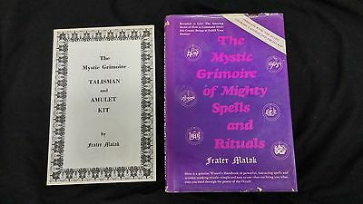 Mystic Grimoire Mighty Spells and Rituals Frater Malak with Kit Magick HB DJ
