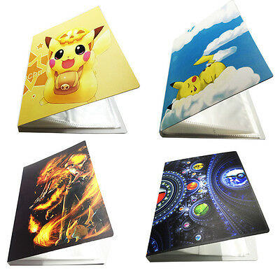 Pikachu-Pocket Portfolio-Pokemon Trading EX Card MEGA Card Folder-Holds 112pcs