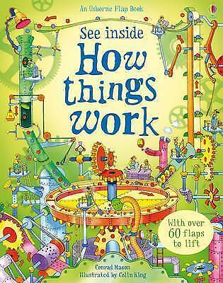 How Things Work (See Inside) (Usborne See Inside),New Condition
