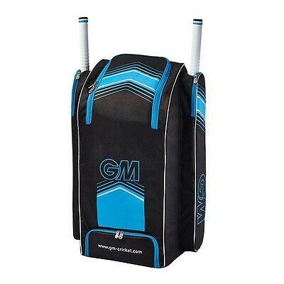 Gunn and Moore 2017 707 Duffle Cricket Bag - Black/Blue
