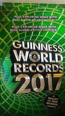 Guinness World Of Records Annual  2017 Brand New