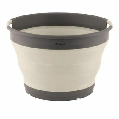 Outwell Collaps Silicone Collapsible Camping Washing Up Bowl - Cream