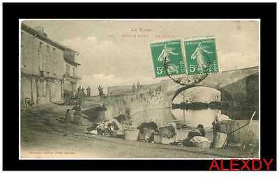 (Ph2) New Cpa 81 Puylaurens *** Le Lavoir 1905 ***
