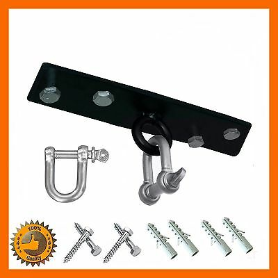 2 Screws Punch Bag Steel Ceiling Hook With Swivel Wall Bracket Boxing Ufc Mma