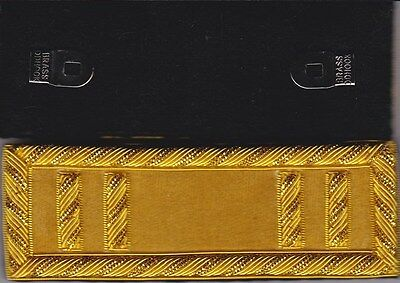 Civil War Cavalry Captain Shoulder Boards -Straps w/Frock Clips & Free Coin