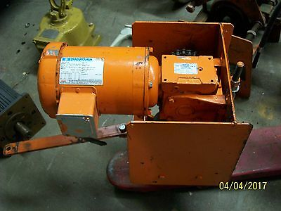 SATURN ENGINEERING 2 TON TRACTOR HOIST (control panel box not included)