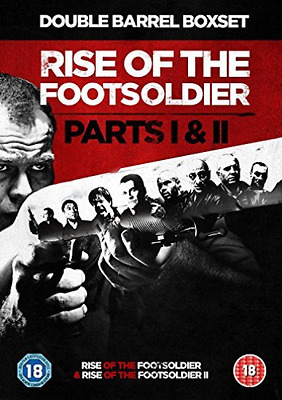 Rise Of The Footsoldier 1 & 2 Box  Dvd New