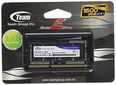 TeamGroup ElL Memoria SO D3 1600, 2GB, C11, Verde