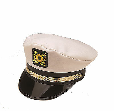 Cheap Captains Hat Yachting Cap Skipper Cap Adjustable Mr Howell 17666