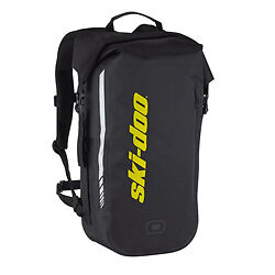 Ski-Doo New 4479580090 Dry Carrier Backpack Storage Gear Bag Brp Black New