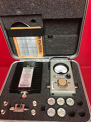 THRULINE 4410A WATTMETER RF & Microwave Power Meters Set