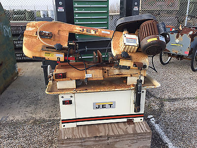 Jet Hvbs-7Mw  Horizontal/vertical Metalworking Bandsaw 3/4 Hp 115/230V Workshop
