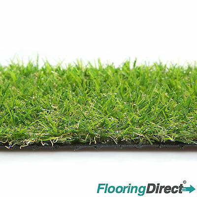 CLEARANCE 15mm Artificial Grass Astro Turf  Realistic Fake Lawn Green Garden