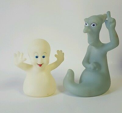 1995 Casper and Sketch Vintage Glow-in-the-dark Figures - Harvey