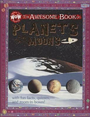 NEW The Awesome Book of Planets and their Moons Hardcover Free Shipping