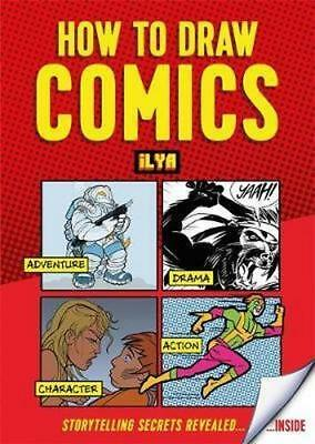 NEW How to Draw Comics By Ilya Paperback Free Shipping