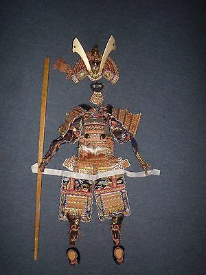 Vintage Japanese Yoroi Doll Size Boys Day Samurai Armor Suit Complete Beautiful
