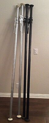 """Used ALU AUTOPOLES Manfrotto AutoPole Photography Background Support 82 - 148"""""""