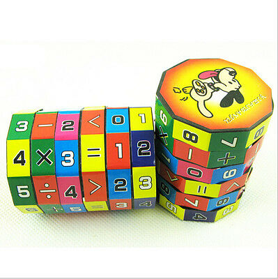 Kids Math Learning Digital Puzzle Rubik's Cube educational Toy creative cubes CA