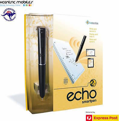 Livescribe Echo Smart Pen 2GB - Brand New SEALED Aussie Stock - Express Shipping