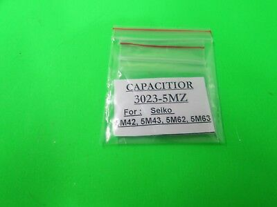 New Seiko Capacitor 30273Mz For Kinetic Watches ( Mt 616 )
