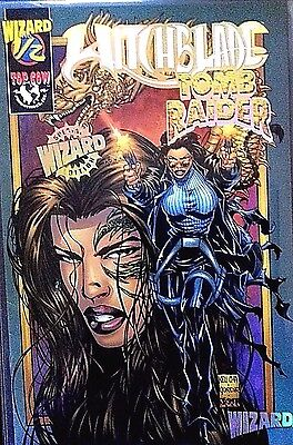 witchblade & tomb raider special limited edition (wizard certificate)