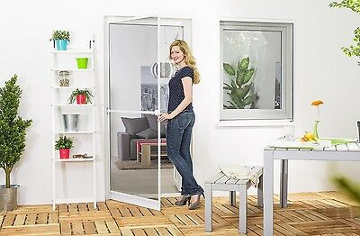Insect Protection Fly Screen Door Aluminum frame Premium 100x210 cm Sheet