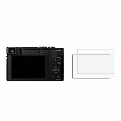 2 x Camera Display Accessory For Panasonic Lumix DMC-TZ70 - Screen Protector
