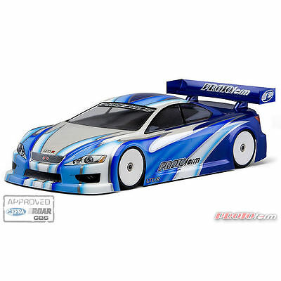 Protoform LTC-R Bodyshell For 190mm Touring Car (Unpainted) - PL1505-30